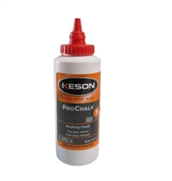 Keson Chalk Refill 8oz. - Red