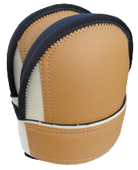 Troxell USA Super Soft Knee Pads - Leather Head