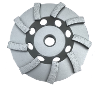 4'' SINGLE SWIRL CUP WHEEL - PLATINUM SERIES