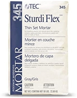 TEC STURDI FLEX WHITE THIN SET MORTAR 50LB
