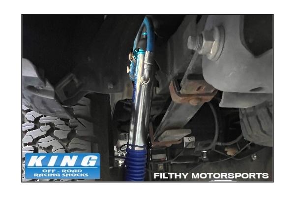 King Shocks OEM Upgrade Kit | Toyota Tacoma | 2005 +