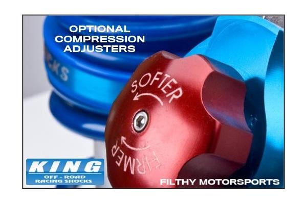 King Shocks OEM Upgrade Kit | Chevy Silverado 1500 | 2007 - 2018