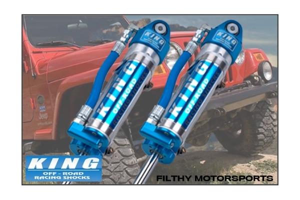 King Shocks OEM Upgrade Kit | Jeep Wrangler TJ / LJ