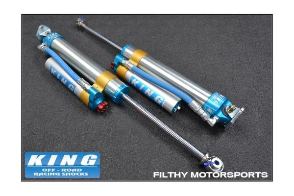 King Shocks OEM Upgrade Kit | Jeep Wrangler JK | 2 5 Shocks