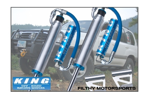 King Shocks OEM Upgrade Kit | Toyota Land Cruiser 100 / LX470