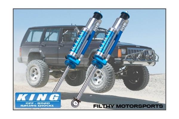 King Shocks OEM Upgrade Kit | Jeep Cherokee XJ