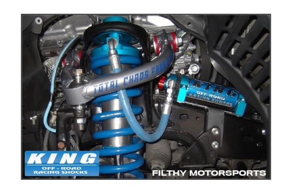 King Shocks OEM Upgrade Kit | Toyota Land Cruiser 200 / LX570 | Stage 3  Race Kit