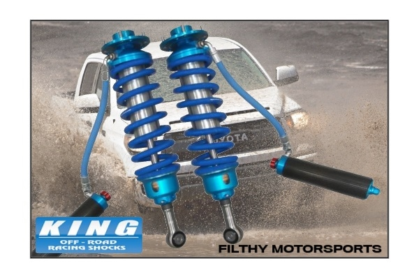 King Shocks OEM Upgrade Kit | Toyota Tundra | Stage 3 Race Kit | 2007 +