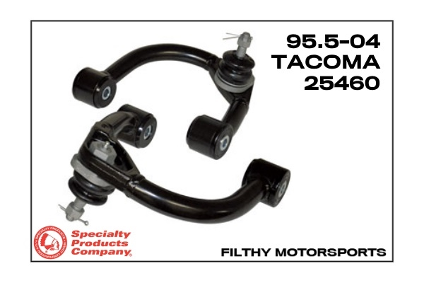 25465 SPC Upper Control Arms for Toyota Land Cruiser