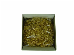 Gold Safety Pins 10 gross (Size 00)