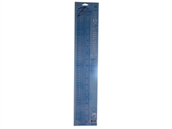 C-THRU by Westcott CR-18 Zero Hero Zero-Centering Ruler 18 Inch