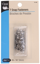 DRITZ D15-65 Snap Fasteners Nickel