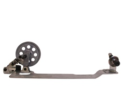 Bobbin Winder Small Wheel Silver