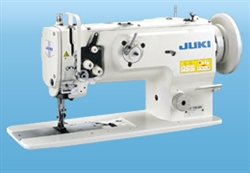 JUKI LU-1508NS 1-needle, Unison-feed, Lockstitch Machine with Vertical-axis Large Hook for Extra Heavy-weight Materials CALL TO ORDER