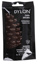 DYLON 87011 Permanent Fabric Dye Dark Brown