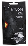 DYLON 87012 Permanent Fabric Dye Velvet Black