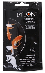 DYLON 87055 Permanent Fabric Dye Goldfish Orange