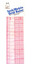 C-THRU B-97 24-60cm Inch-Metric Ruler