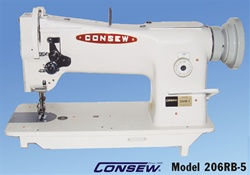 CONSEW 206RB-5 Single Needle Walking Foot Machine