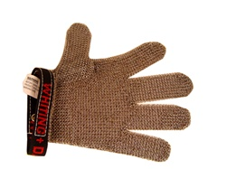 Whiting+Davis SG515 5 Finger Stainless Steel Safety Gloves