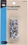 DRITZ D33575-65 Large Eyelets Nickel