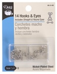 DRITZ D90- Hooks & Eyes Nickel
