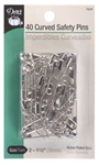 DRITZ D7216 Curved Safety Pins