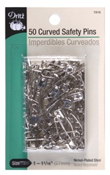 DRITZ D7215 Curved Safety Pins