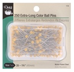 DRITZ D112 Extra-Long Color Ball Pins
