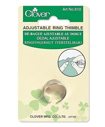 CLOVER CN610 Adjustable Ring Thimble