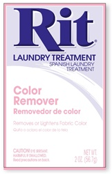 RIT DYE RP-60 Fabric Treatment Powder Color Remover