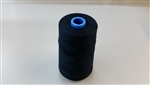 T-40(30/2) 100% Polyester Black 6,000 Yds