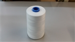 T-40(30/2) 100% Polyester White 6,000 Yds