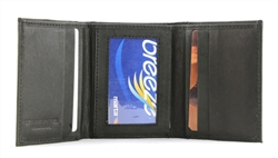 Cowhide Tri-fold Wallet Style : 17578