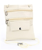 Lambskin Large Neck Purse Style : C13-  CREAM