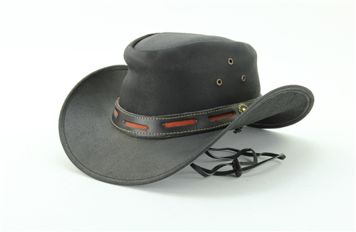 ea3d62a65f2 Black   Red Band Cowboy Hat Style    HT122