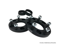 P2M 25MM PCD CONVERSION SPACER : 5X100 -> 5X114 / M12X1.50 STUD / 54.1 BORE