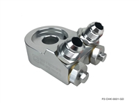 P2M ANGLED OIL FILTER BLOCK ADAPTER