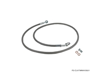 P2M NISSAN MAXIMA 1995-01 AUTO TO MANUAL STEEL BRAIDED CLUTCH LINE