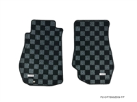 P2M NISSAN Z33 350Z RACE FLOOR MATS : DARK GREY