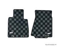 P2M NISSAN Z34 370Z RACE FLOOR MATS : DARK GREY
