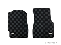 P2M HONDA CIVIC EG6 (3DR HATCH) & CIVIC CRX RACE FLOOR MATS : DARK GREY