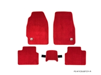 P2M HONDA CIVIC EK9 LIMITED EDITION TYPE-R STYLE RED FLOOR MATS