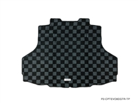 P2M MITSUBISHI EVO 8/9 REAR TRUNK MAT : DARK GREY