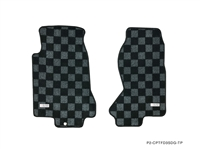 P2M MAZDA FD3S RX-7 RACE FLOOR MATS : DARK GREY
