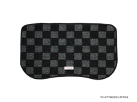 P2M TESLA MODEL 3 FRUNK CHECKERED MAT : DARK GREY