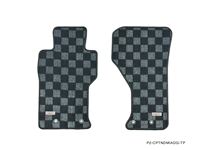 P2M MAZDA ND MIATA 2016+ RACE FLOOR MATS : DARK GREY