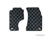 P2M NISSAN S13 1989-94 240SX RACE FLOOR MATS : DARK GREY