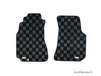 P2M NISSAN S14 1995-98 240SX RACE FLOOR MATS : DARK GREY