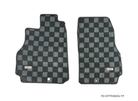 P2M NISSAN R35 GTR RACE FLOOR MATS : DARK GREY